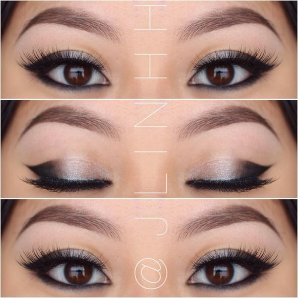 how to apply smokey eye makeup for asian eyes
