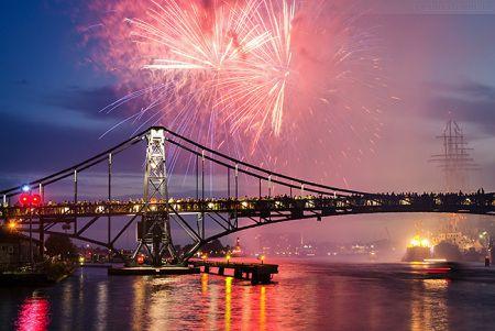 Wilhelmshaven Feuerwerk WadJ 2015