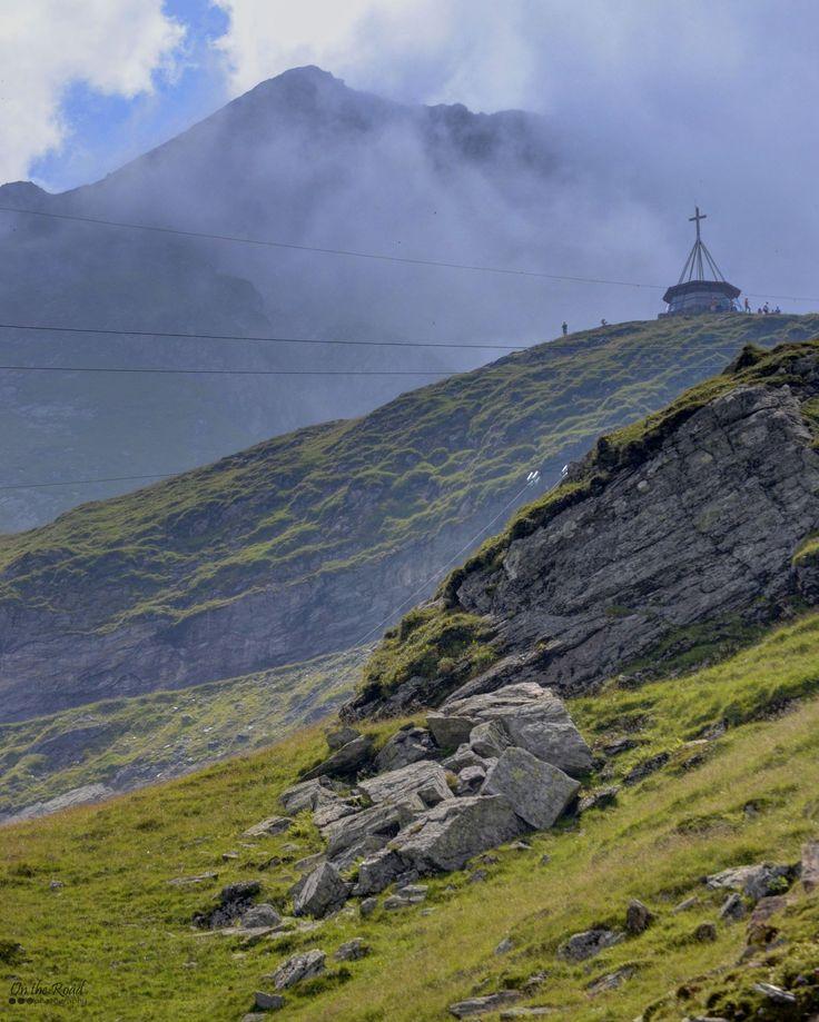 Breathtaking landscape in Fagaras Mountains, by the Transfagarasan road.