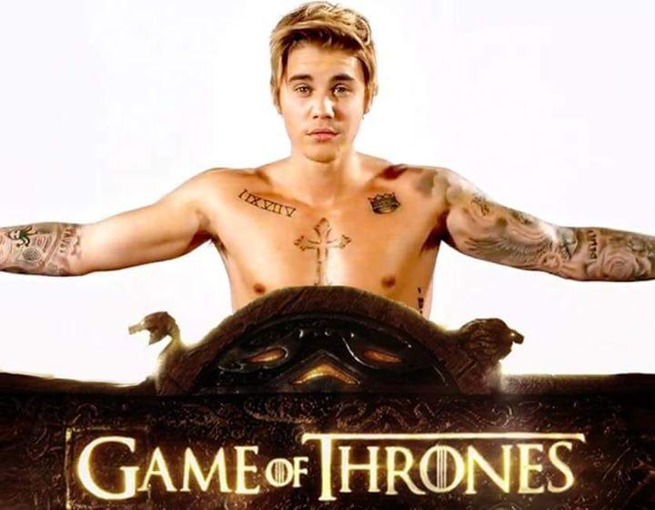 ¡NOTICIÓN! Justin Bieber tendrá un pequeño papel en la última temporada de Juego de Tronos.  El cantante canadiense seguirá los pasos de sus compañeros de profesión Will Champion (Coldplay) o Ed Sheeran. #gameofthrones #Dragons #gotseason7 #GoTS7 #jonsnow #kitharington #stark #winterfell #aryastark #sansastark #maisiewilliams #got #lannister #tyrionlannister #daenerystargaryen #emiliaclarke #motherofdragons #kinginthenorth #winteriscoming #winterishere #cercei