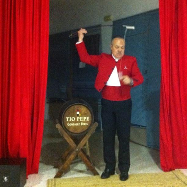 Venenciador de Tio Pepe! Wine - vinos - @igersandalucia