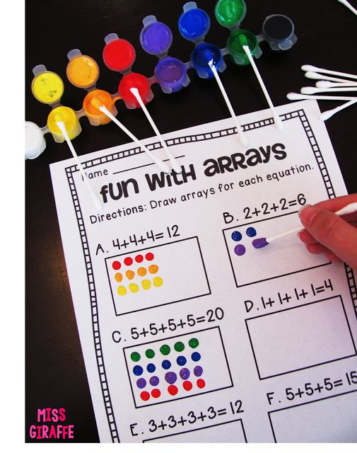 How to Teach Arrays