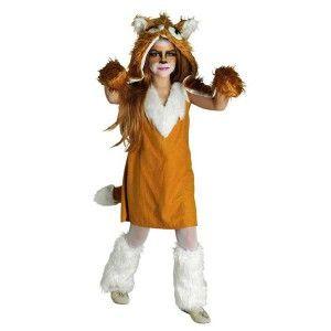 Αλεπουδίτσα trendy στολή για κορίτσια με κουκούλα γάντια και γκέτες