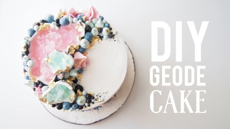 DIY Pink Geode Cake | Most Satisfying Cake Decorating Video | Greggy Soriano
