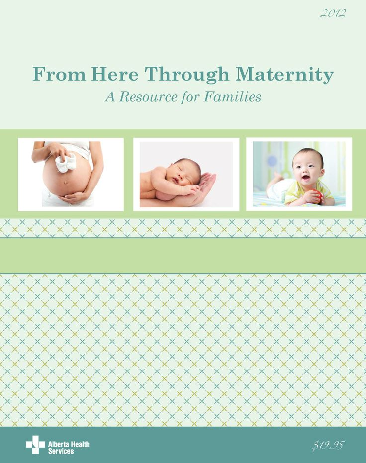 Cover for the 2012 AHS From Here Through Maternity book.