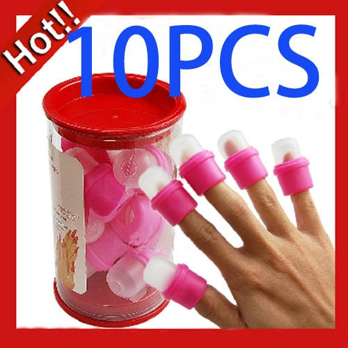 OMG these are actually genius. They are nail polish soakers and would be PERFECT for getting off acrylic nails, or gel ones (if you have the solution that removes them!) love love love! Trust me, this totally beats the old cotton ball and aluminum foil trick. oh and they're only $3.25!