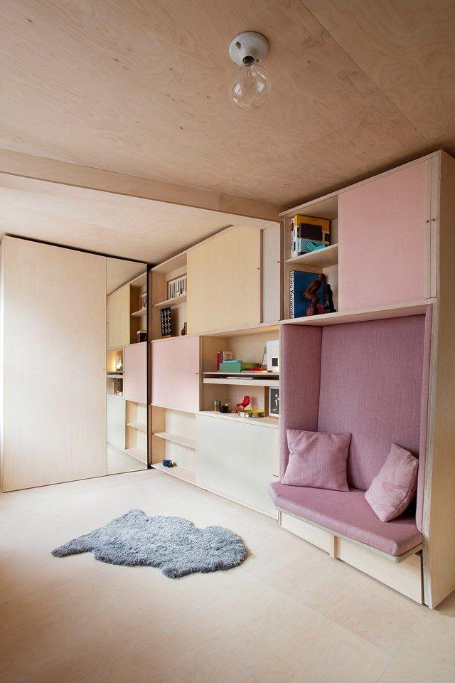 studio flat in London (houseandgarden.co.uk)