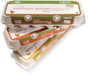 Fresh & Easy, eggs packaging