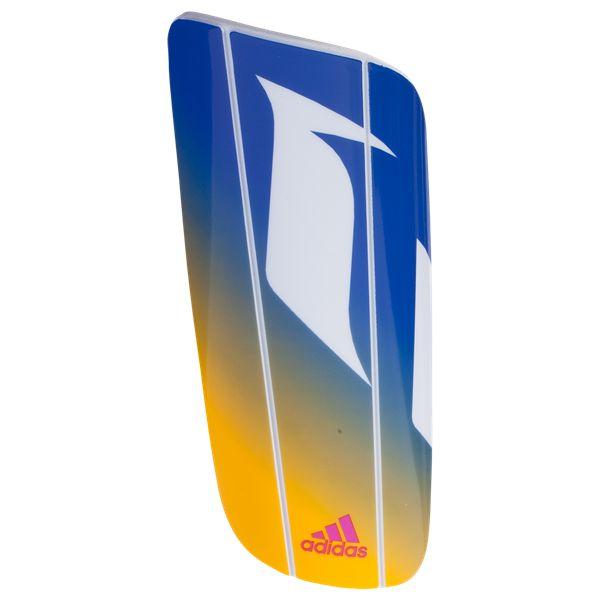 adidas Messi 10 Lesto Shin Guards White/Blue/Hock Pink