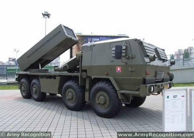 RM-70/85 122mm MLRS Multiple Launch Rocket System