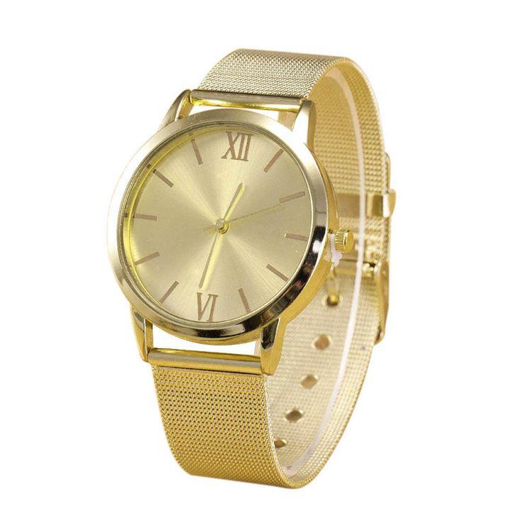 $1.24 (Buy here: https://alitems.com/g/1e8d114494ebda23ff8b16525dc3e8/?i=5&ulp=https%3A%2F%2Fwww.aliexpress.com%2Fitem%2F2016-Brand-Women-Watch-Luxury-Fashion-Ladies-Watch-Gold-Silver-Stainless-Steel-Mesh-Band-Wrist-Watch%2F32711948708.html ) 2016 Brand Women Watch Luxury Fashion Ladies Watch Gold Silver Stainless Steel Mesh Band Wrist Watch Wholesale for just $1.24