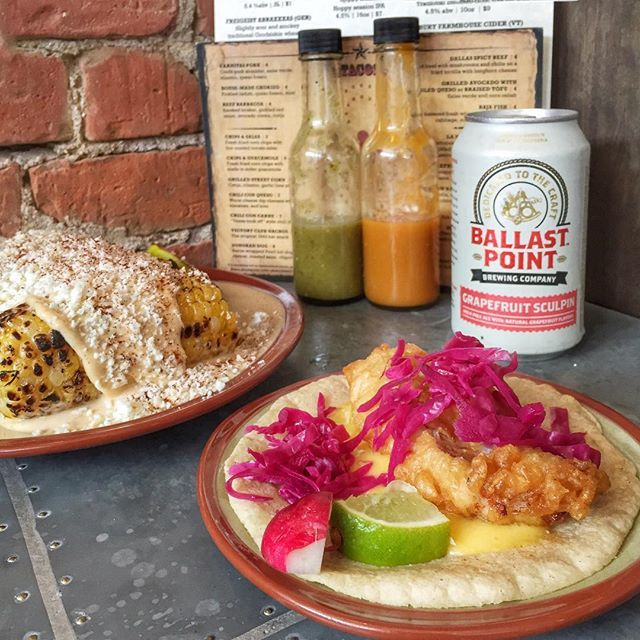 we like our #tacotuesday with a side of mexican street corn  by lonestar_cambridge August 25 2015 at 04:00PM
