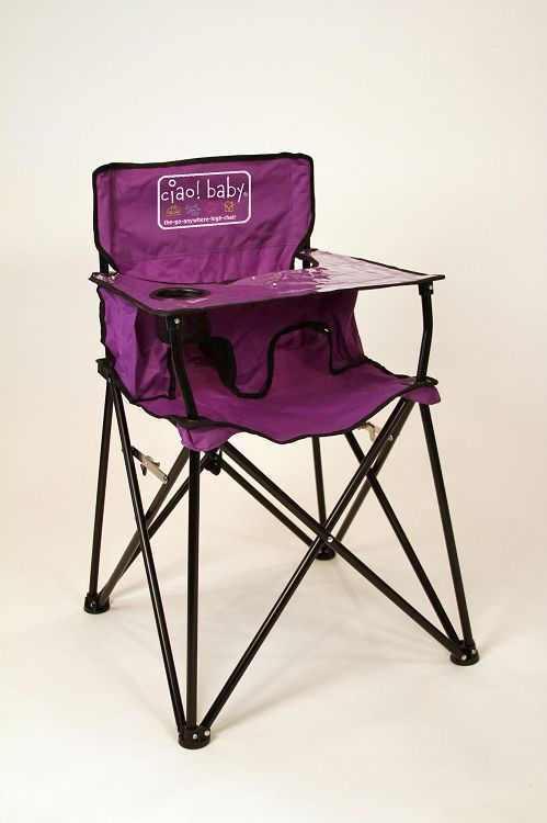 Ciao! Baby Portable High Chair..This is a brilliant idea and for a decent price