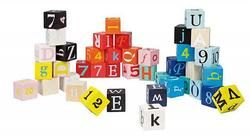 Janod Kubix Letters & Numbers Blocks $32.99 - from Well.ca