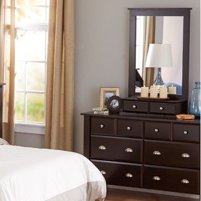 Andover Mills Revere 8 Drawer Dresser with Mirror