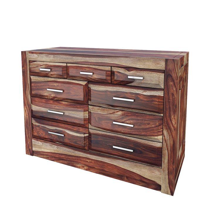 Best Sierra Nevada Handcrafted Solid Wood 9 Drawer Horizontal 400 x 300
