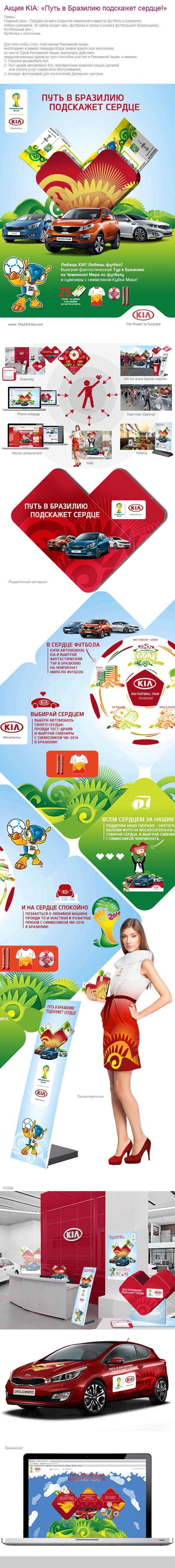 KIA/FIFA 2014 on Behance