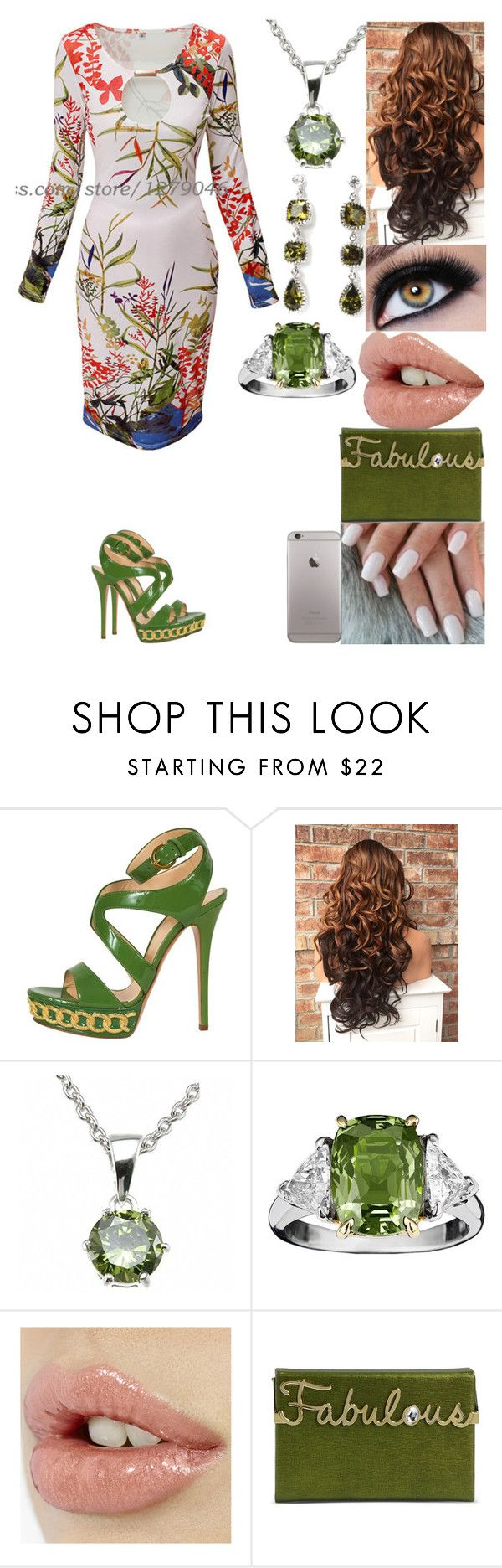 """Untitled #2739"" by alize-roshaun-sims ❤ liked on Polyvore featuring Casadei, Fantasy Jewelry Box and Charlotte Olympia"