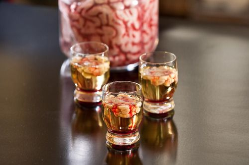 Zombie Brain Shots. This.Is.Awesome!
