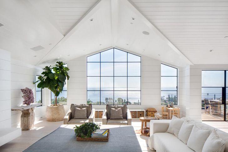 Интерьер дома в солнечной Калифорнии | Пуфик - блог о дизайне интерьера