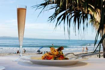 Yum with a view, Sails Restaurant Noosa is a gotta do #airnzsunshine www.noosaviplimousines.com airport transfers to your accommodation, wedding, restaurant