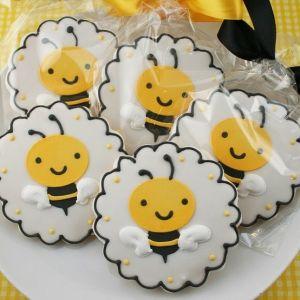 Biscoitos abelha.