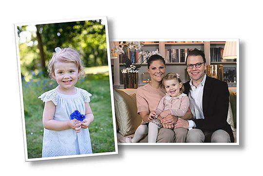 Klicka för att visa nästa bild --Kronprinsessan och hennes familj