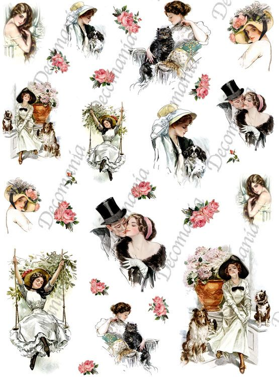 cod.TRA045 www.deco-chic.it, carte da decoupage, Riflessi di carta, serie 4