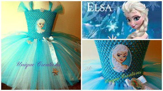 Elsa frozen tutu dress