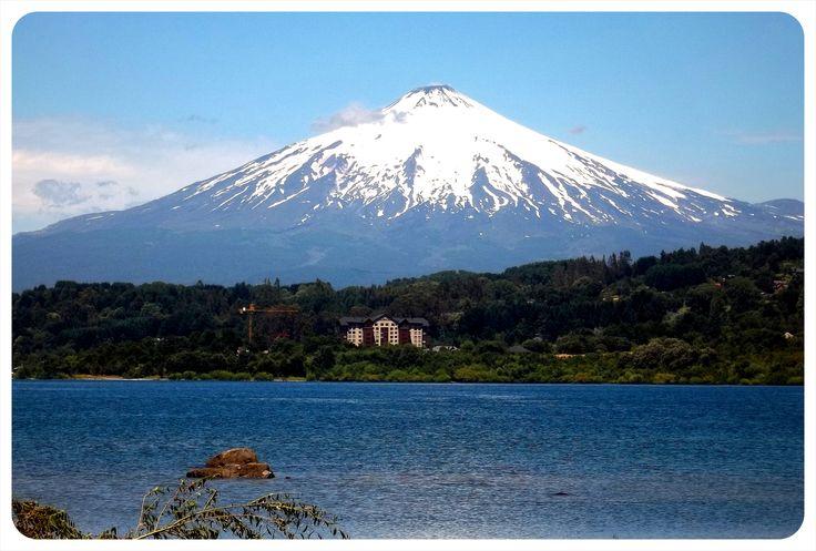Volcán y lago Villarrica by Dario Alpern