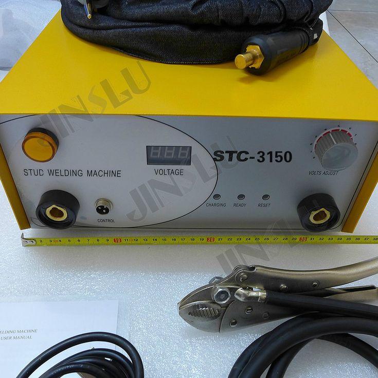 Stud Welder Welding Machine STC-3150 220V Capacitor Discharge With Stud Torch Welding Range M3-M8