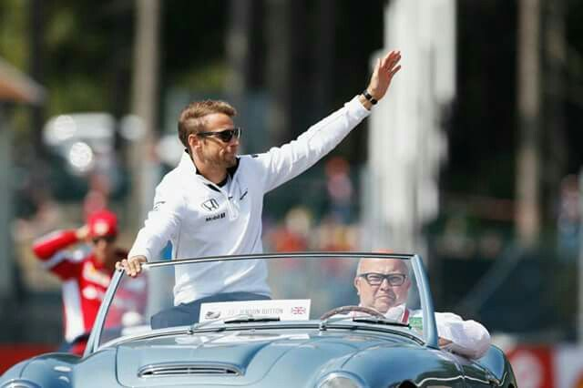 Drivers Parade in Spa
