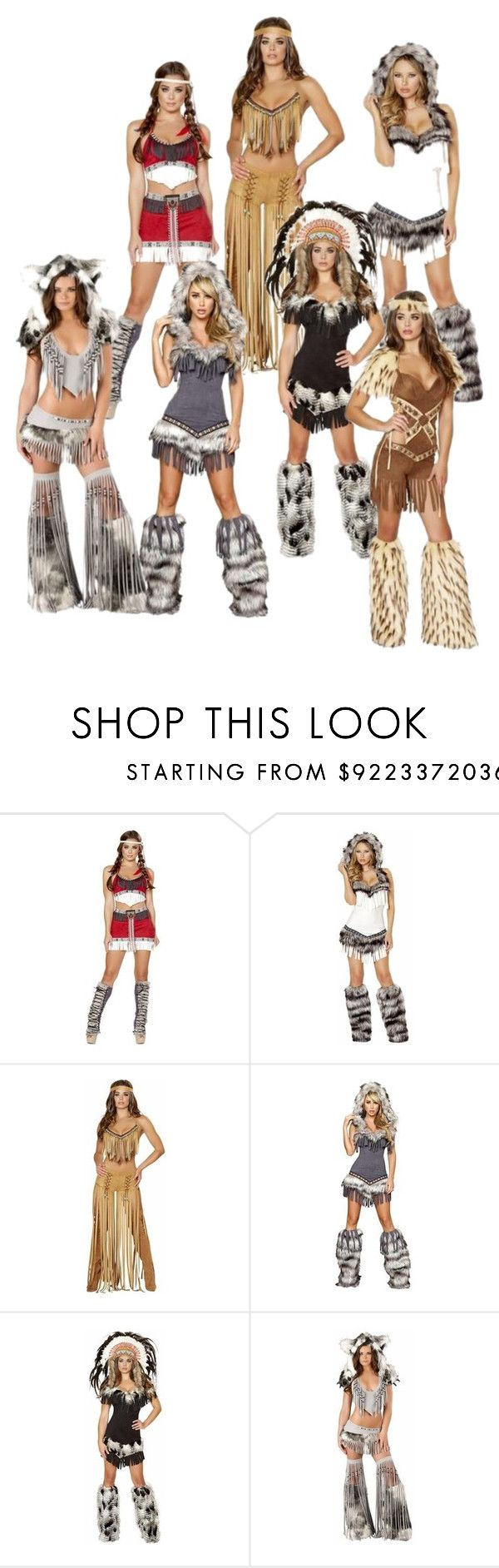 """Sexy American Indian Halloween Costumes @Musotica.com"" by musotica ❤ liked on Polyvore"