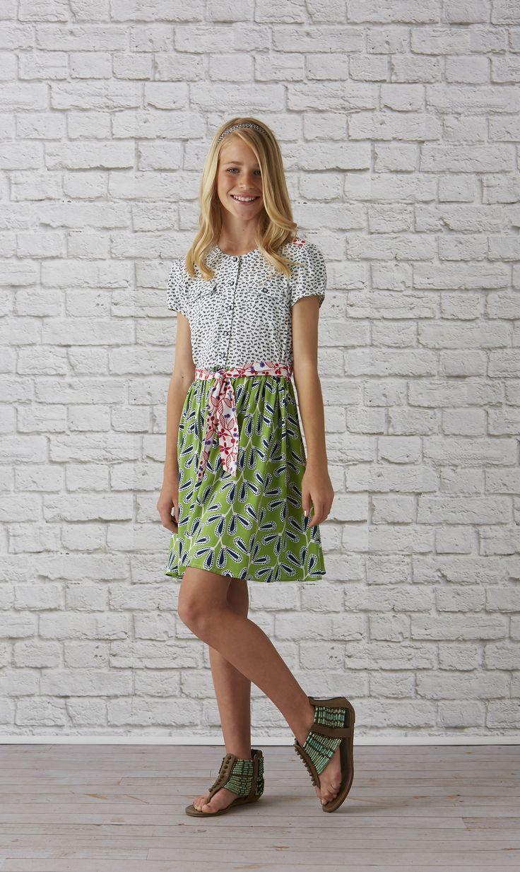 Bayside Dress 435 by Matilda Jane Clothing Tween Style