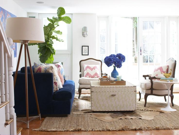 Braided Jute Rug U0026 Louisa Bergere Chairs By Ballard Designs I Via Elements  Of Style
