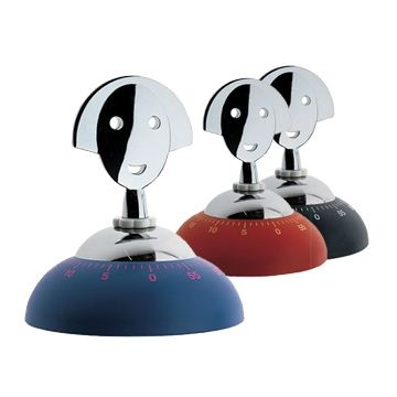 Alessi Anna Time Kitchen Timer - Style # AAM09, Modern and contemporary kitchen accessories at SWITCHmodern.com