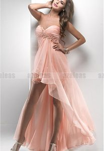 Bridesmaid Dresses Short in Front Long in Back