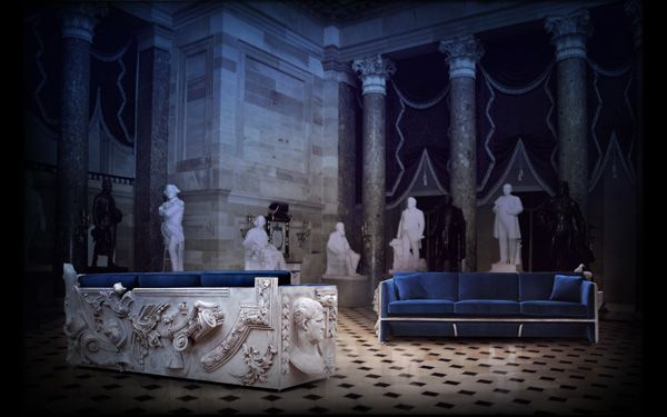 I love everything to do with Versailles. This is a stunning Versailles inspired sofa by Boca do Lobo