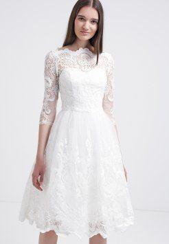 Chi Chi London - Cocktailkleid / festliches Kleid - white