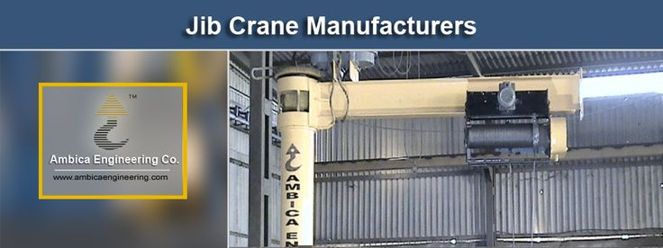 #Jib_Cranes: Smart Choice to Move Heavy Materials & Bulks