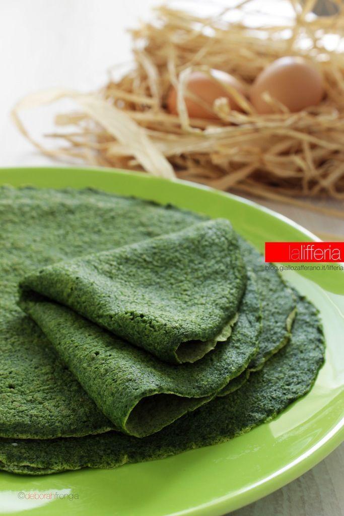 Crepes agli spinaci | Ricetta di base