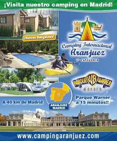Camping Aranjuez - Visite nuestro Camping en Madrid NICE kamp... Id like to go there