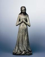 Maria in der Hoffnung, vers 1400, Kalkstein, verm. Prager Werkstatt