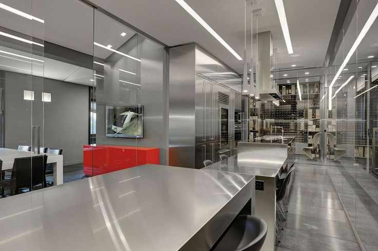 cozinha industrial em casa