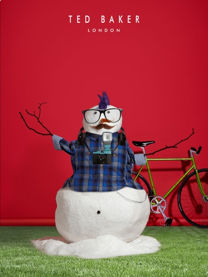 I just created my own Full Frosty Snowman on the @ted_baker Facebook app. Click the link to create your own http://www.facebook.com/TedBaker/app_212592525541549