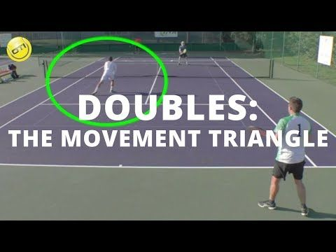 Tennis Doubles Tactics: Server's Partner - YouTube