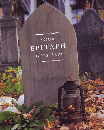 diy graveyard learn how to make quick and easy polystyrene tombstones for you yard haunt easy halloween decorationsyard - Do It Yourself Halloween Decorations For The Yard