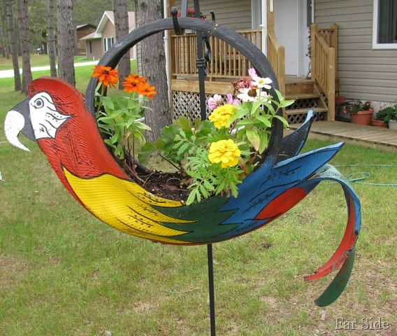 Diy ideas from old tires5