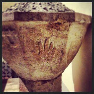 Fonte Battesimale Chiesa di S. Leonardo #Manciano #Maremma #Tuscany pic. Alessandro Fichera