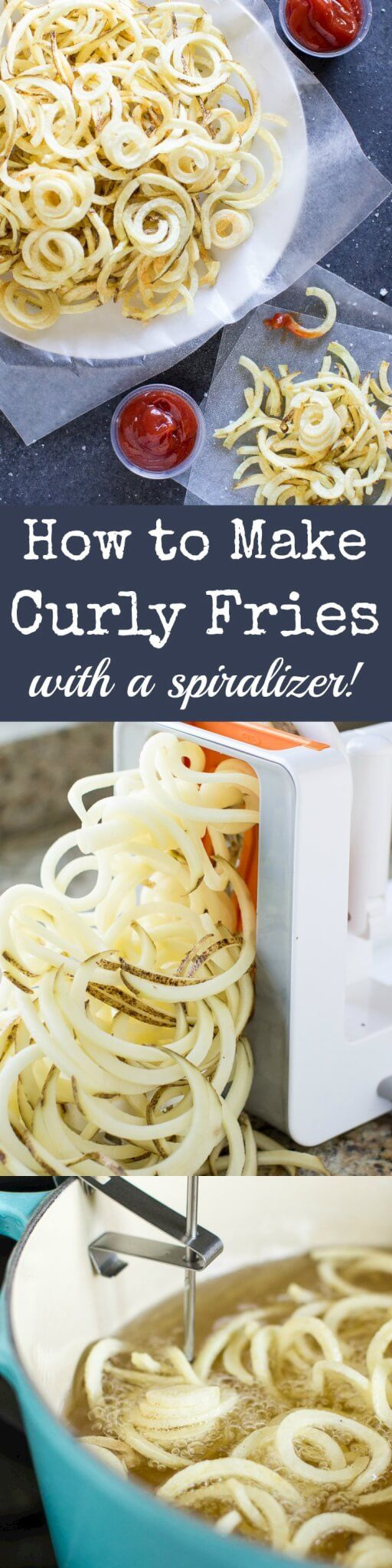Welcome to your fool-proof guide on how to make Curly Fries! With the help of my secret weapon, turn regular or sweet potatoes into the crispy French fries of your dreams.